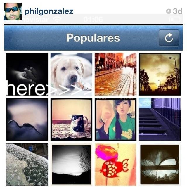 Los most pop eran el trending topic de Instagram