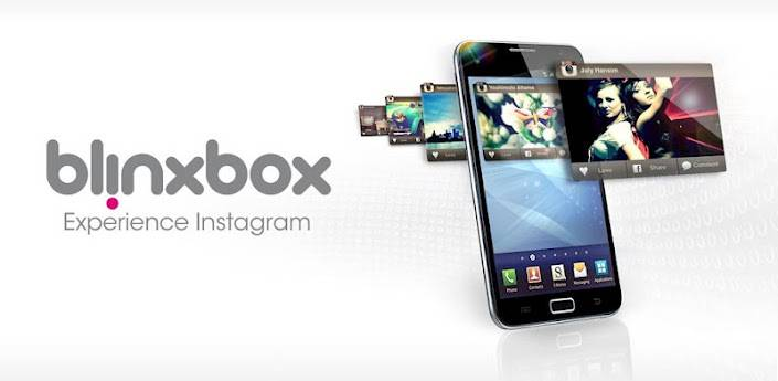 Blinxbox a new Instagram Api based app for Android