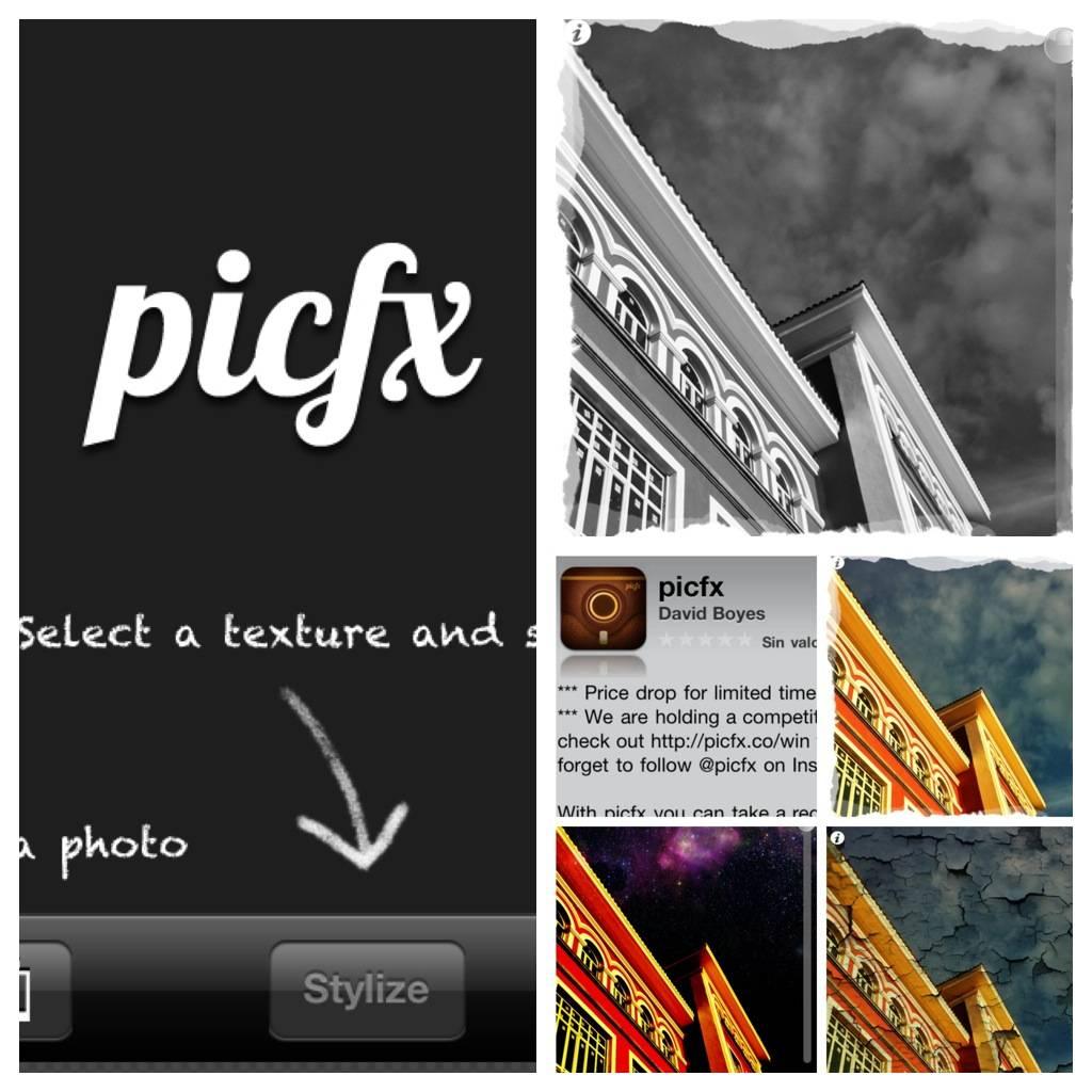 PicFx, Una Photo App Fácil y rápida.