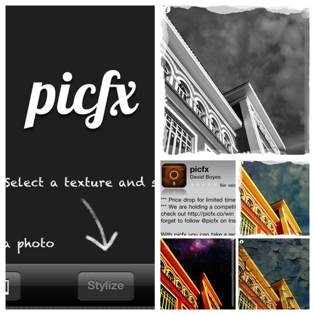 PicFx Photo App. Funky, Fast and Funny!