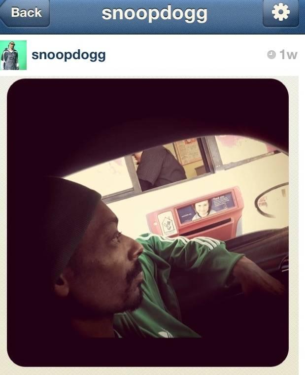 Los inicios de SnoopDogg en Instagram