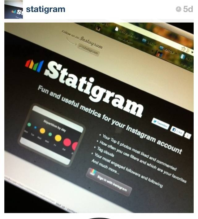 Statigram makes Instagram contests easier