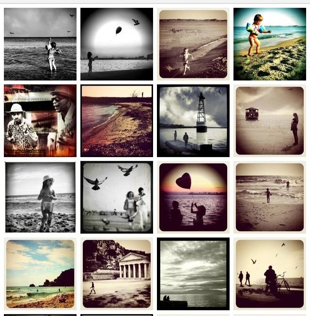Preach your own photographer style in Instagram