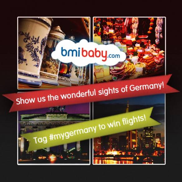 Win flights at MyGermany Contest