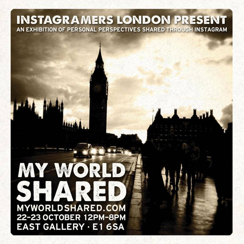 My World Shared The UK's First Instagram Exhibit