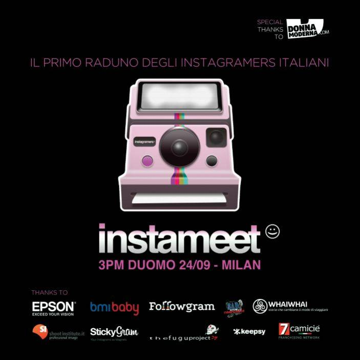 First Global Instameet Italia in Milano 24 september