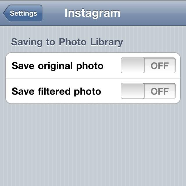 Save photo bug in Instagram v2.0‏