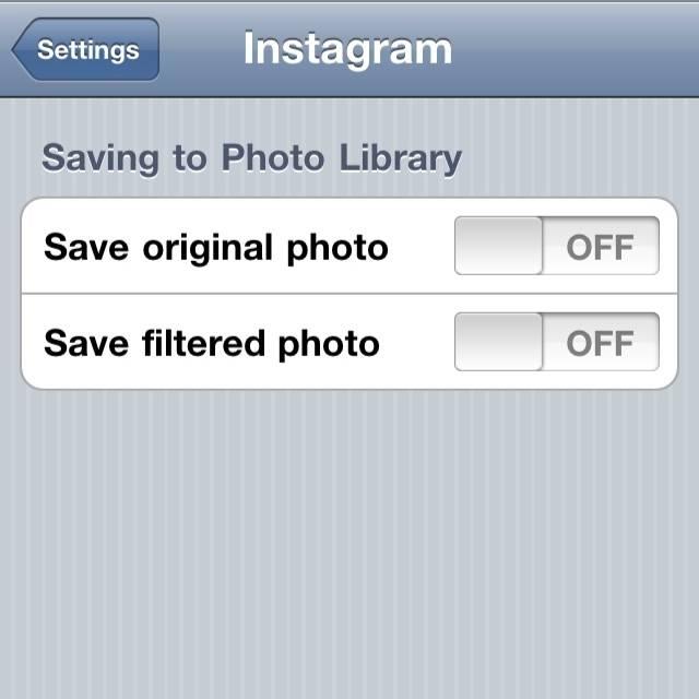 Save photo bug in Instagram v2.0