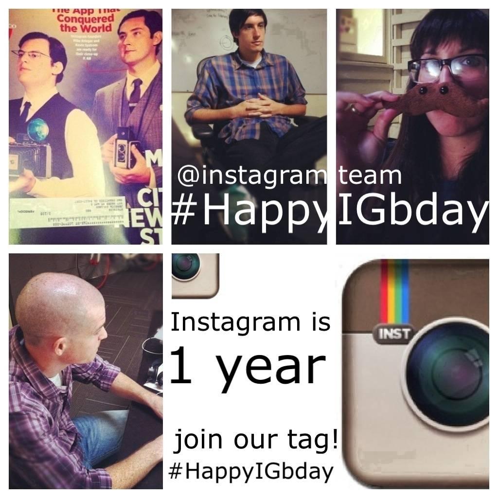 Happy birthday Instagram #happyIGbday
