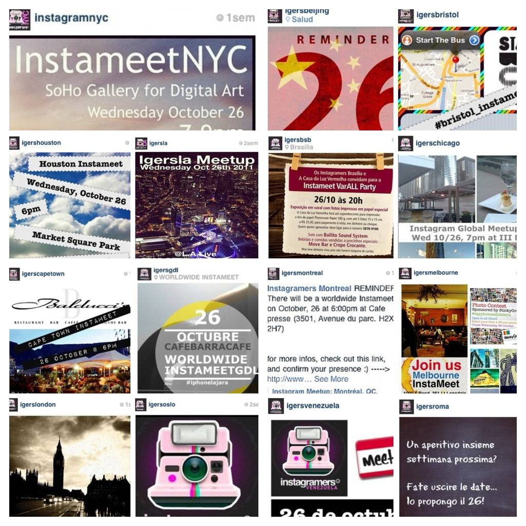 Instameet Worldwide 26th October.