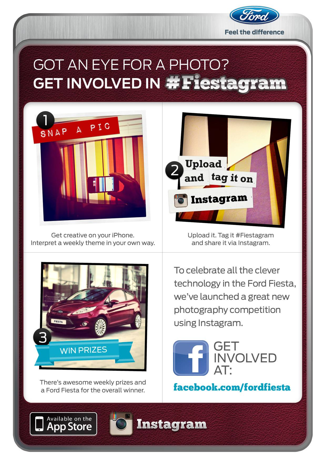 Fiestagram Ford Contest in Instagram