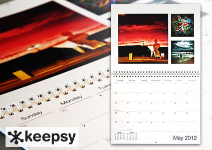 Keepsy offers Instagram calendars now