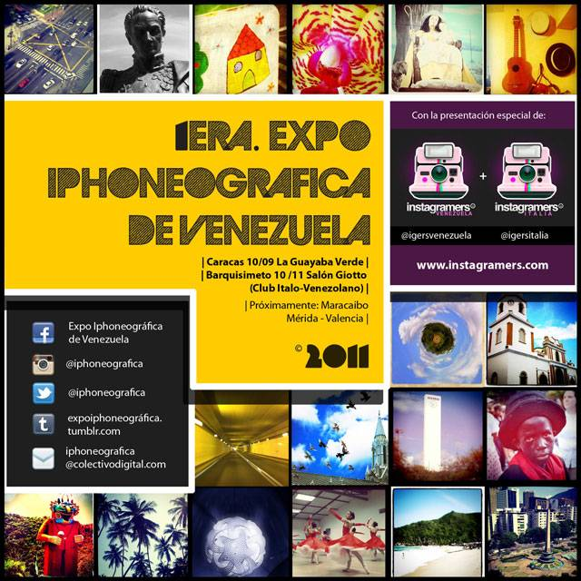 First venezuelan Iphoneography Exhibition 2011