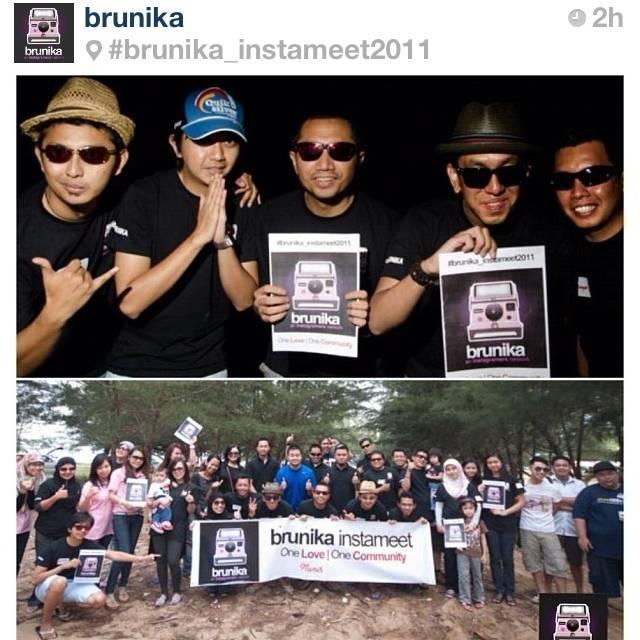 brunika, Brunei first Instameet ever
