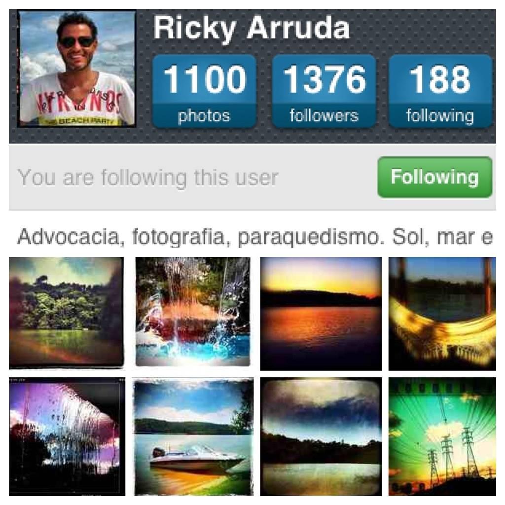 FlashOn Instagramers 1.20: @RickyArruda