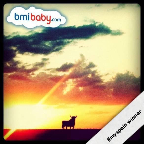 Ganador del concurso #myspain con bmibaby