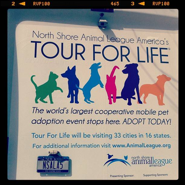 12th annual Tour For Life by Animal League.