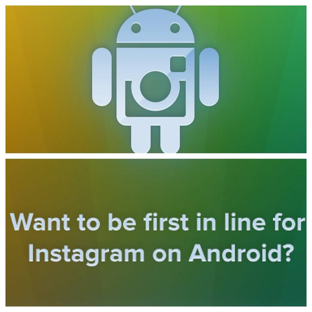 Instagram finally on Android