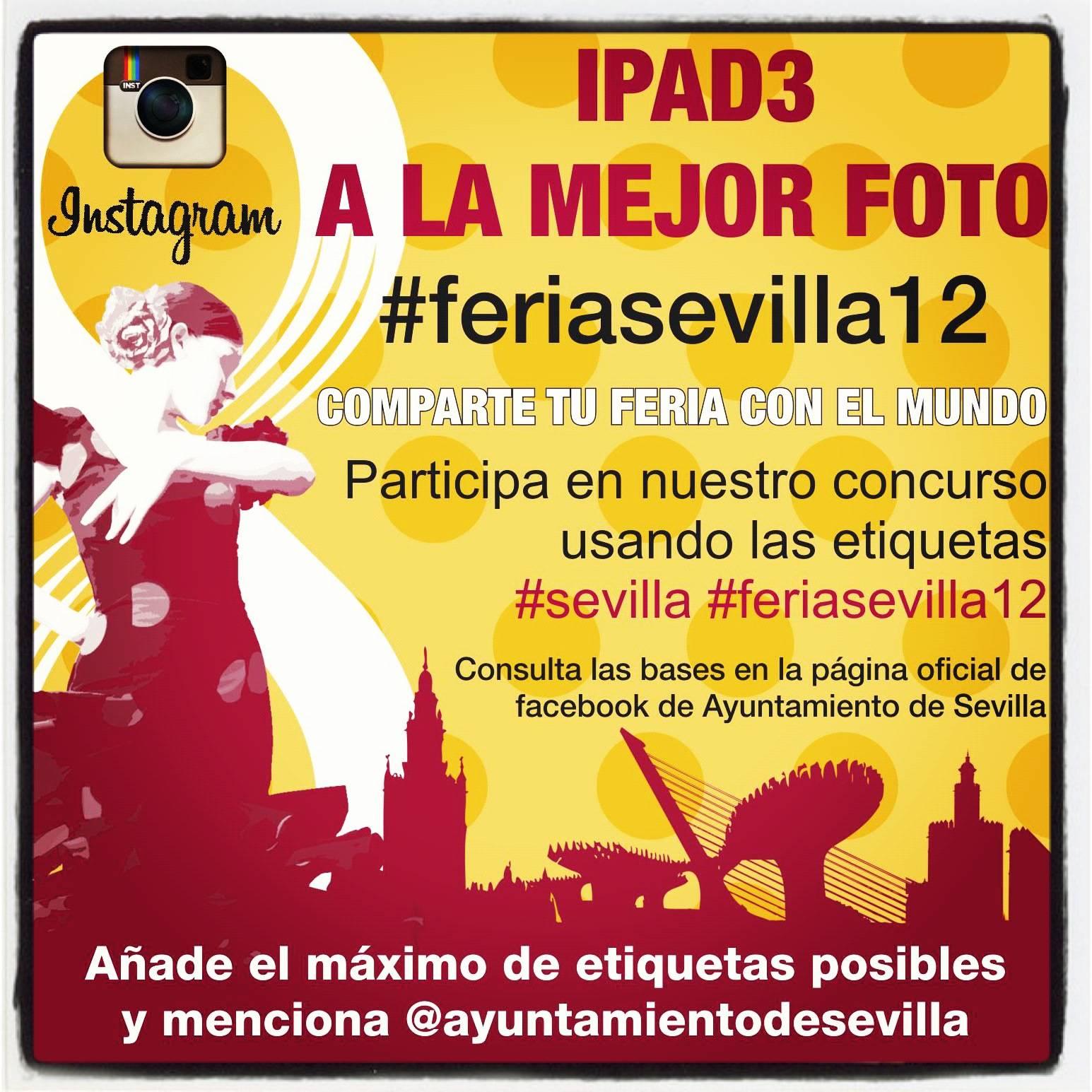 El ayuntamiento de Sevilla promociona su feria en Instagram