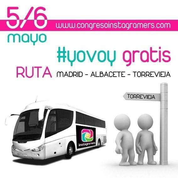 Novedades sobre congreso Instagramers en Torrevieja