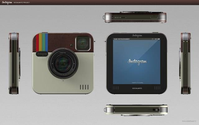 Instagram Socialmatic Camera Overview