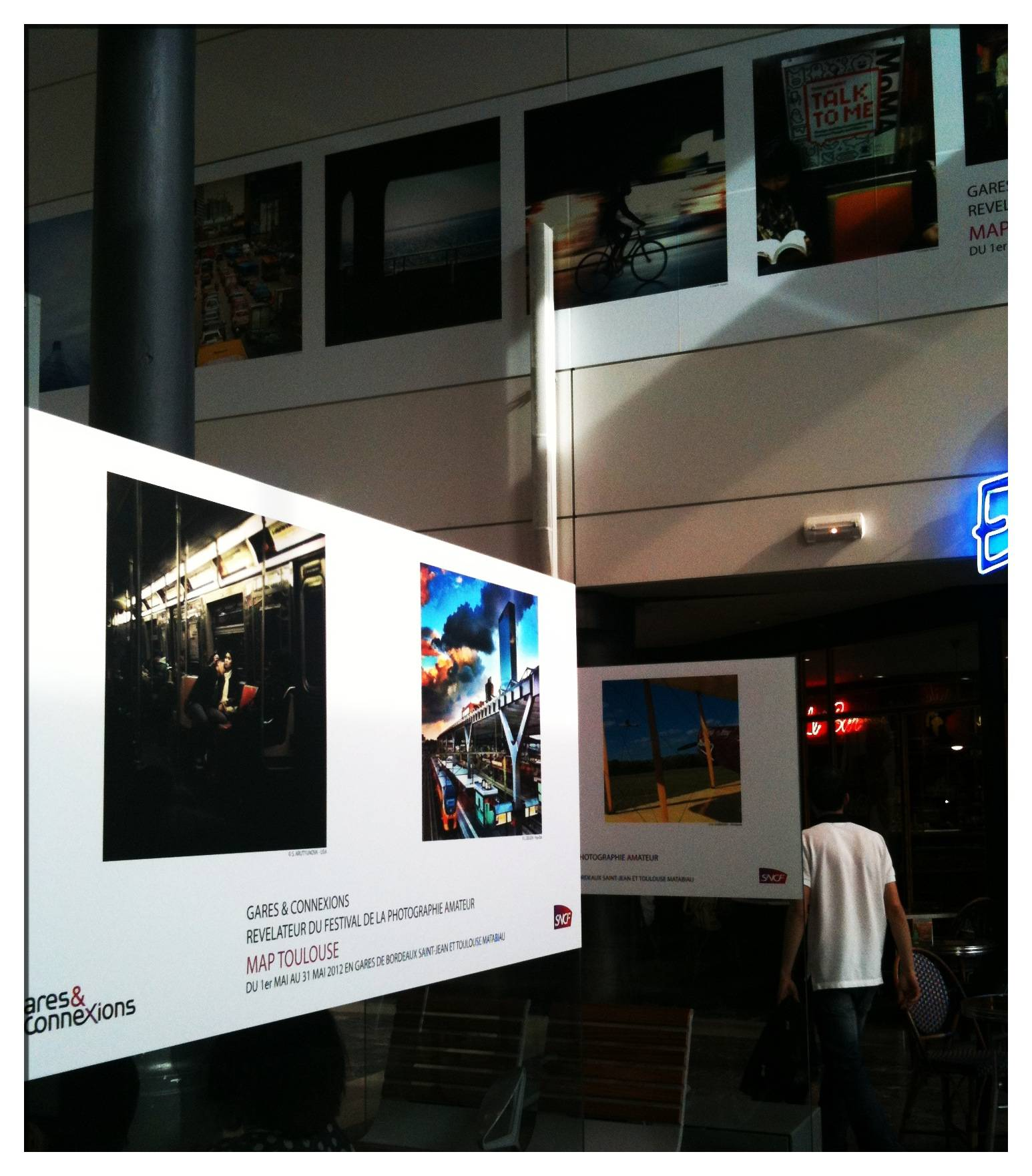 Myride Contest Winners and Exhibition in Toulouse Train Station