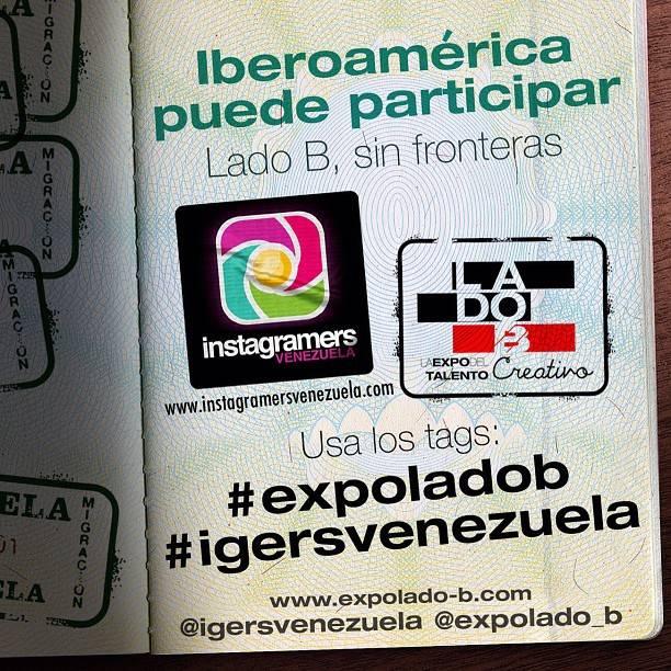 """Concurso IberoAmericano en Instagram:  """"El lado B de las marcas que te inspiran"""""""