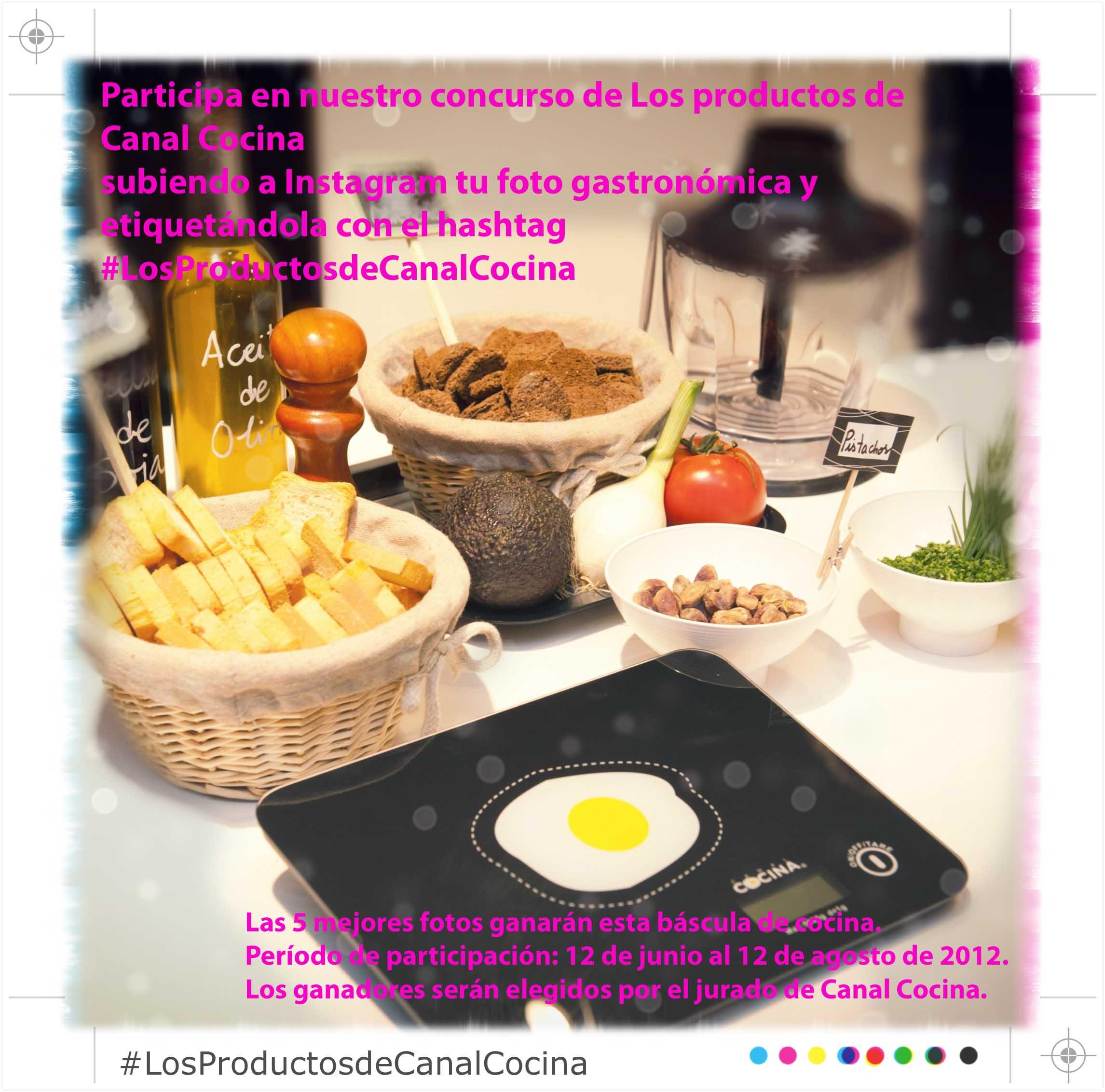 Nuevo concurso de Canal Cocina en Instagram