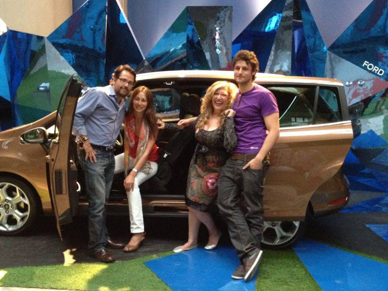 Evento Ford B-Max con los Instagramers de Madrid en Casa Decor