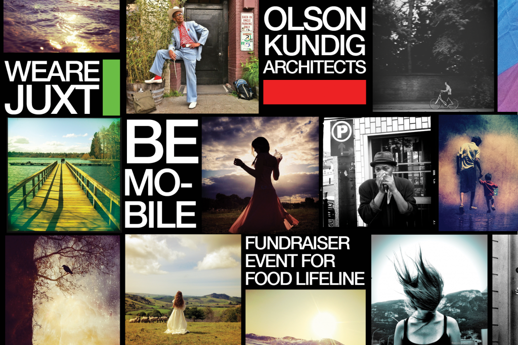 We Are Juxt and Olson Kundig Architects present Be Mobile: Fundraiser for Food Lifeline