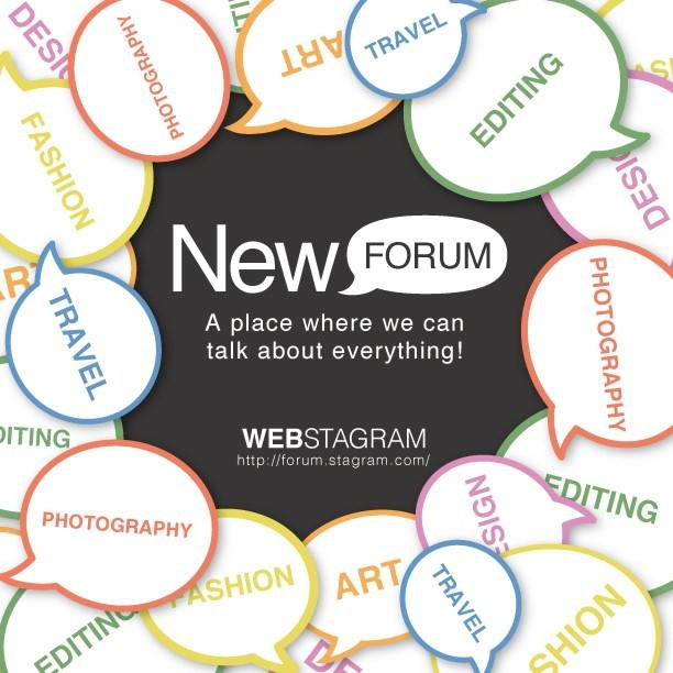 Webstagram launches ForumStagram, Forum for Instagram fans