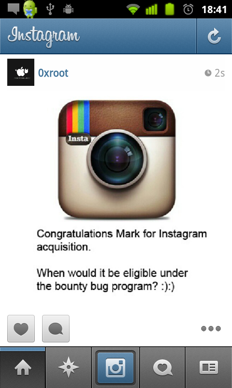 A spanish guy finds a Follower vulnerability in Instagram Api