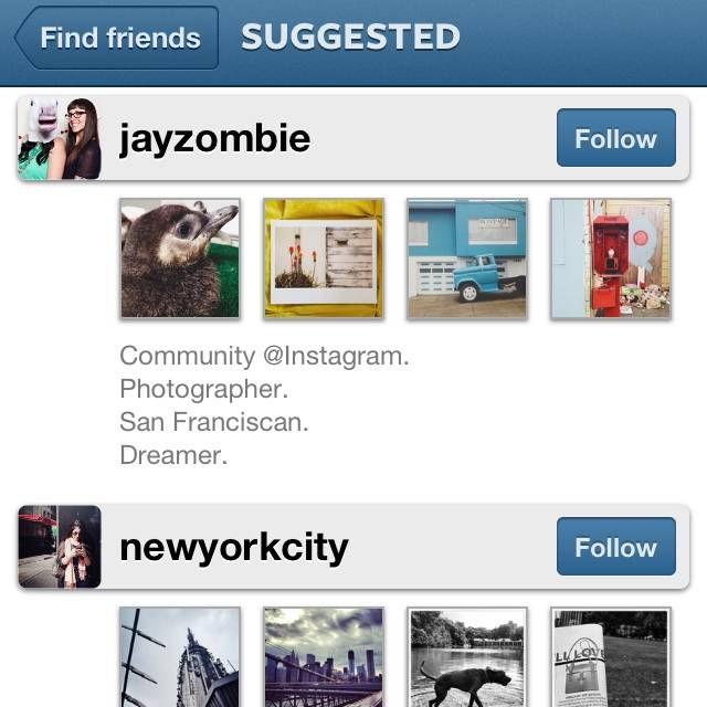 How to be part of the Suggested Users List in Instagram
