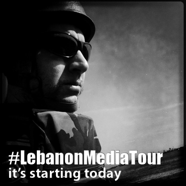 Lebanon Media Tour through Instagram