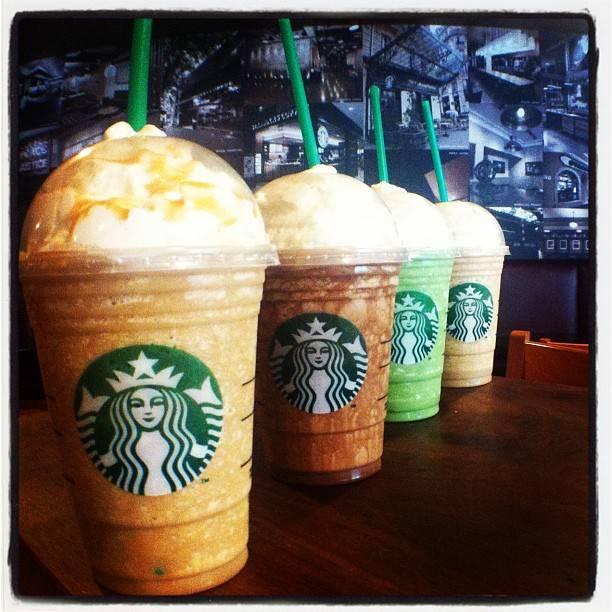 Los inicios de Starbucks en Instagram