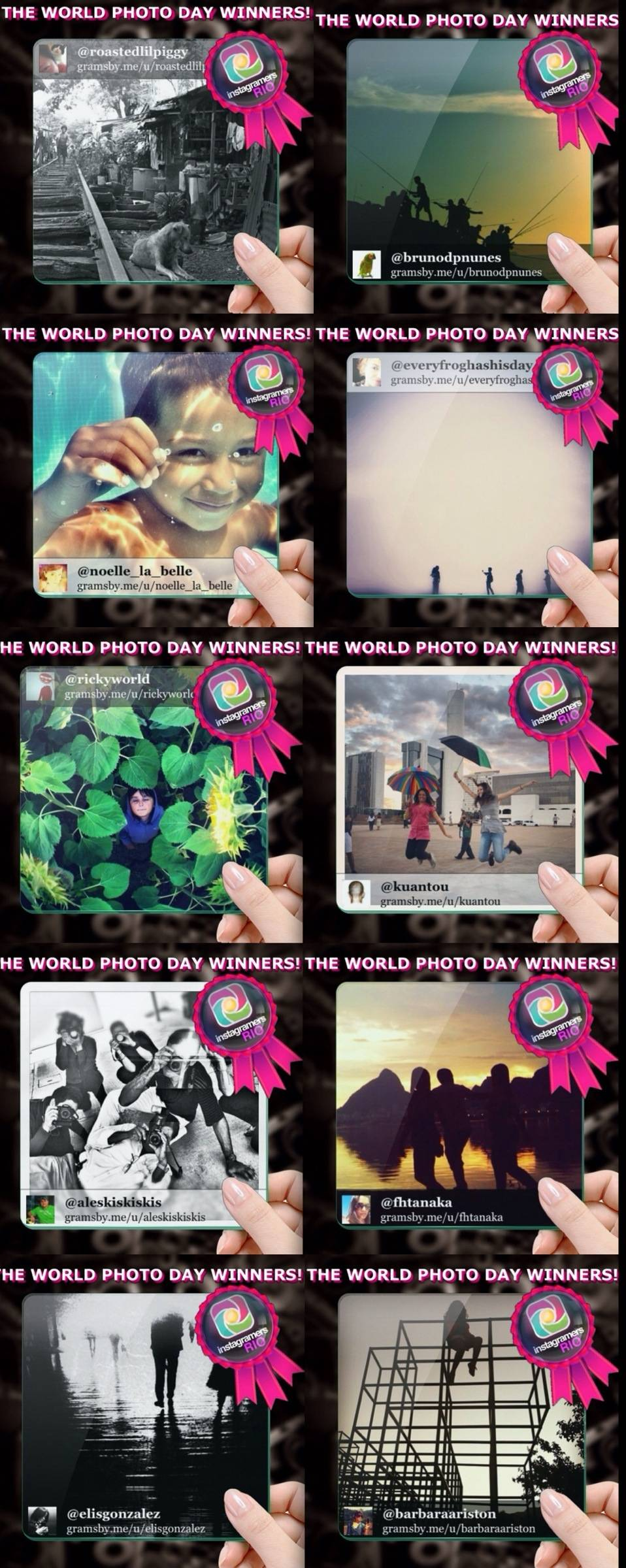 World Photo Day Contest Winners