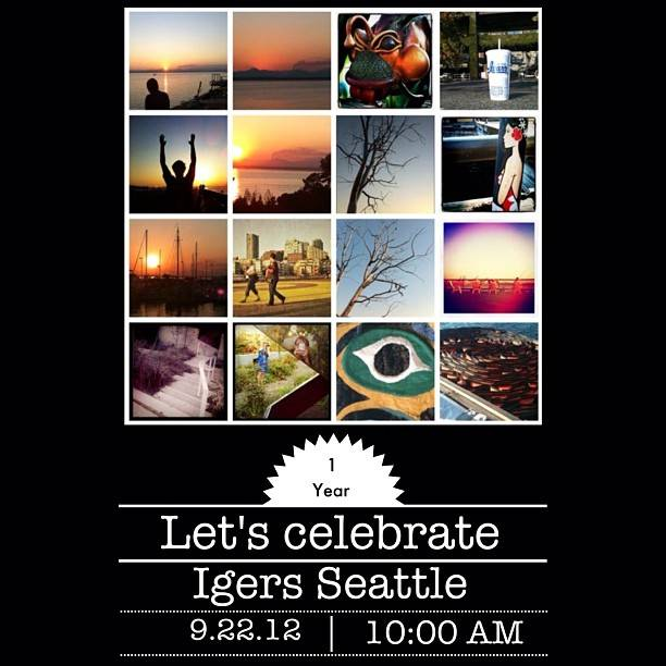 Instagramers Seattle first Birthday Instameet (video)