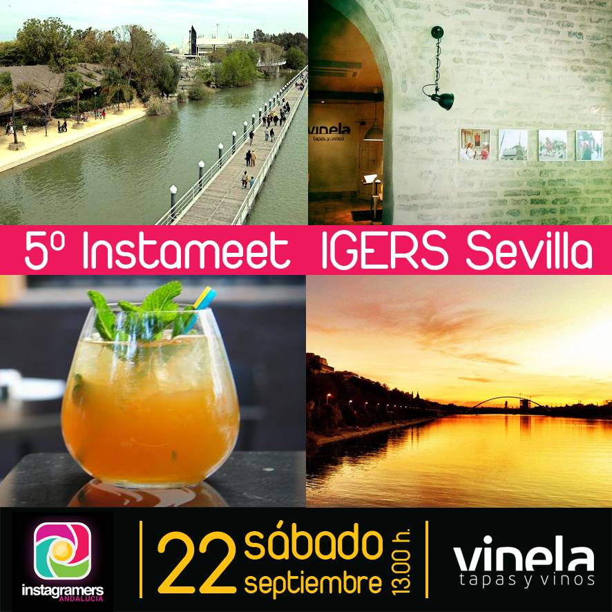 Instameet de otoño en Sevilla el próximo 22 de septiembre