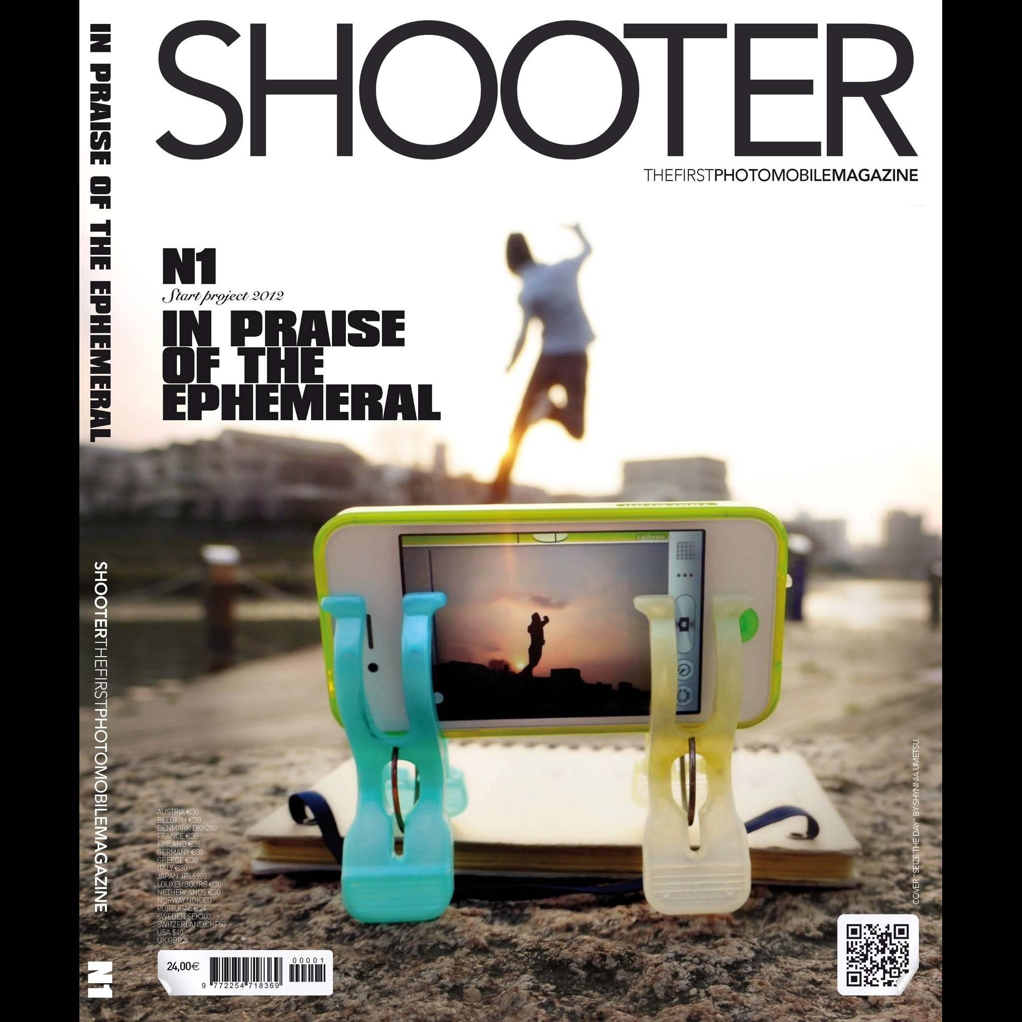 Nace Shooter Magazine, LA Revista para los Amantes de la Fotografía Móvil