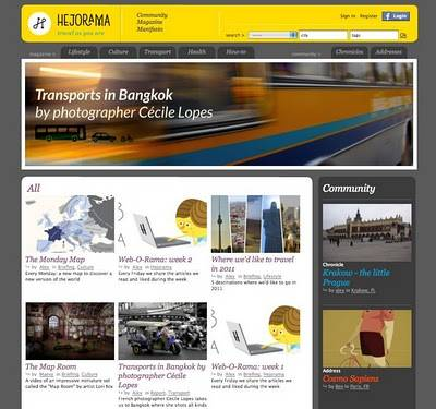 Hejorama, the social media platform for curious and adventurous travelers