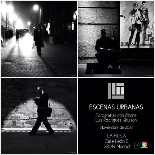 Inauguración exposición 'Escenas Urbanas' de nuestro igersMadrid @Luison