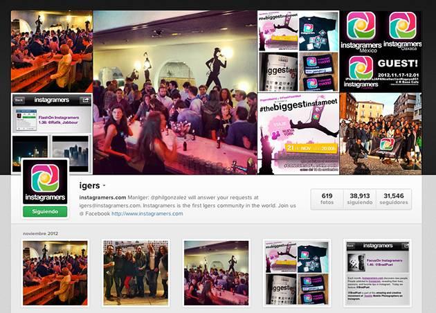 Nuevo botón para compartir facilmente tu perfil de Instagram en tu web o blog