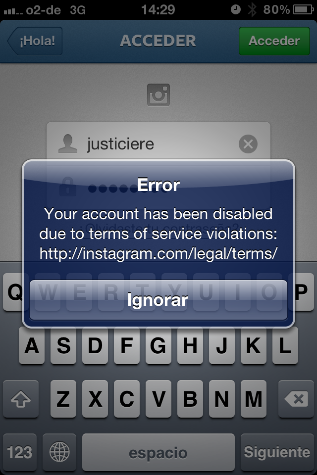 Accounts Deleted On Instagram Because of Urls and Web Domains used on Comments