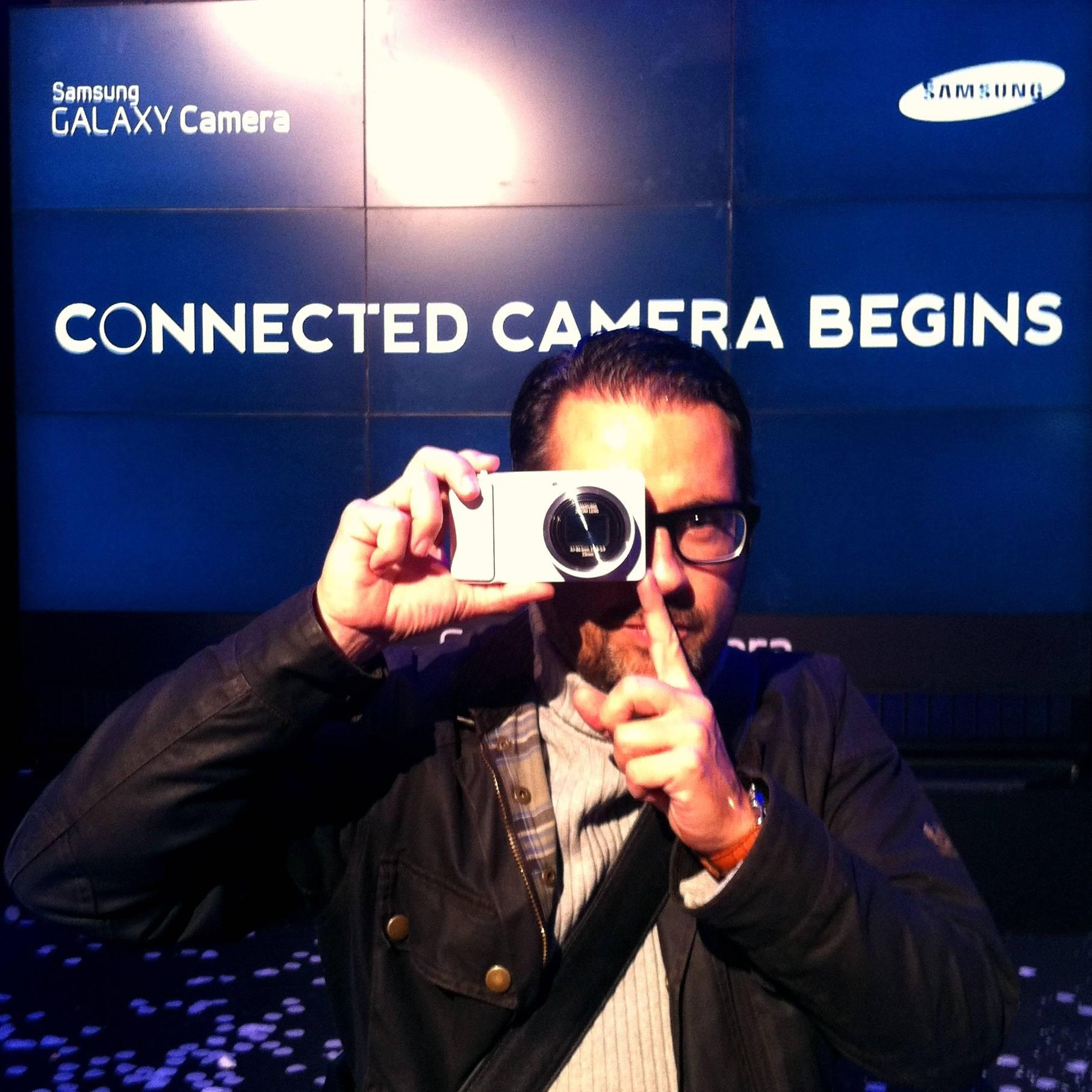¿Que significa la nueva Samsung GALAXY Camera para Instagram?
