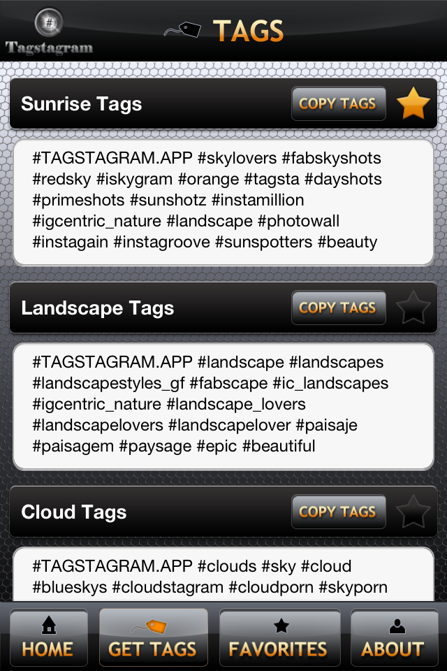 Tagstagram, a web browser that helps you to tag your pics