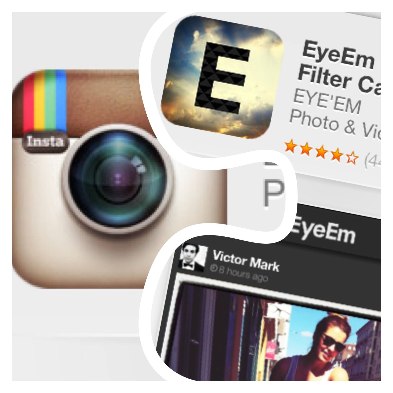 Comparison Between Terms of Services of Instagram and Eye Em Apps