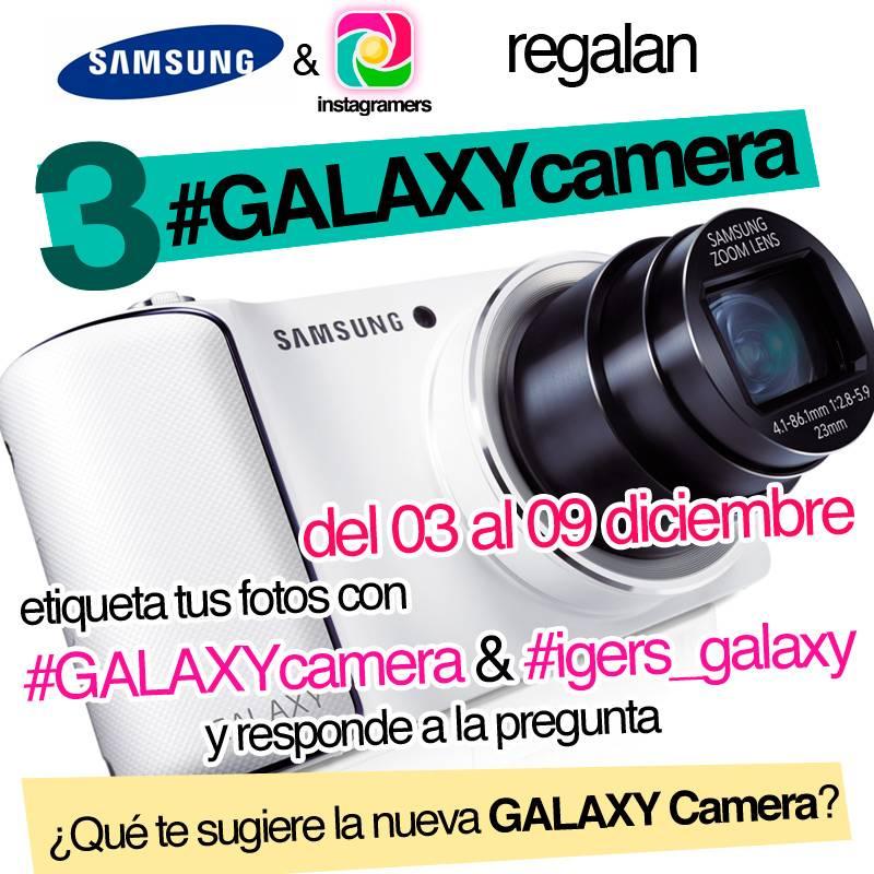 Gana 3 Samsung GALAXYcamera con Instagramers