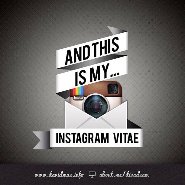 instagramvitae  the first curriculum vitae on instagram