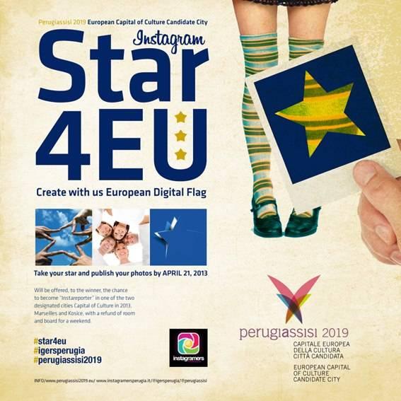 STAR4EU New European Flag by Instagramers