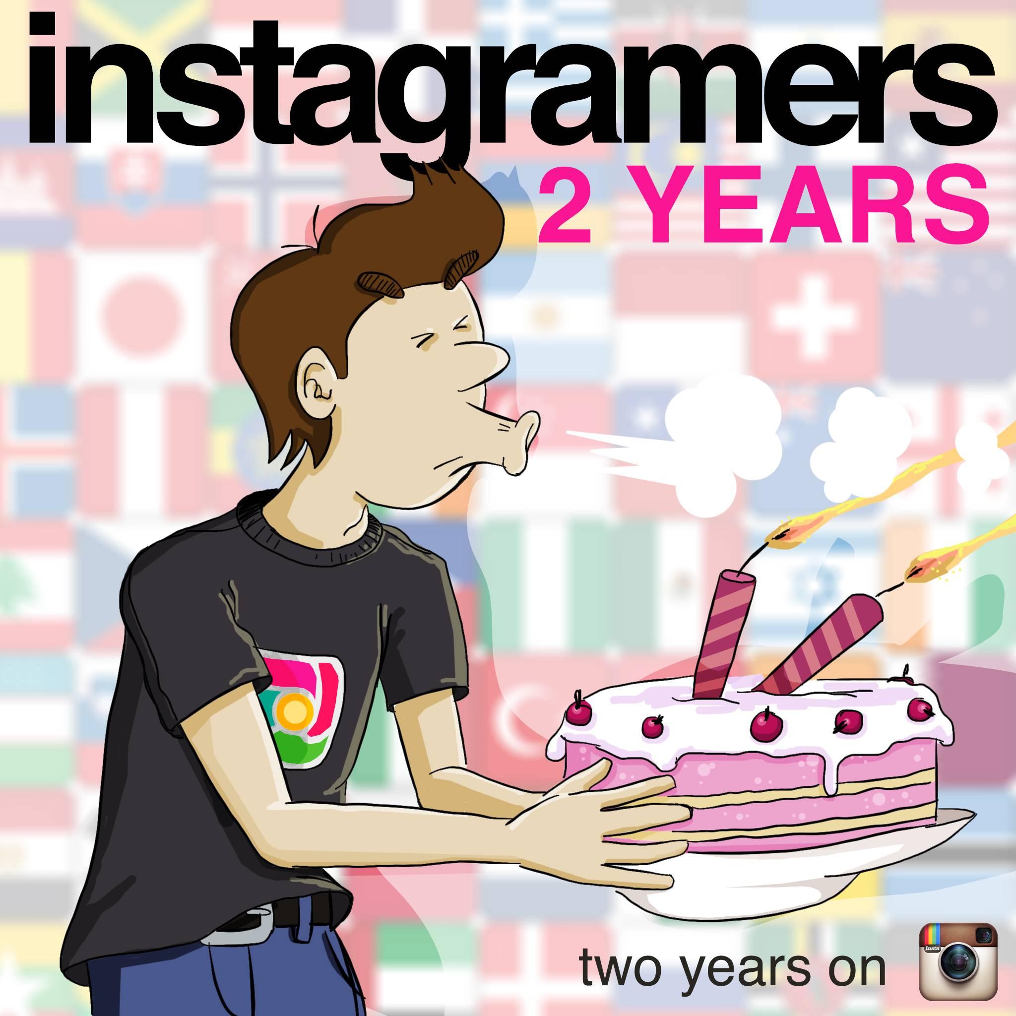 Instagramers Celebra hoy su Segundo Cumpleaños y sus 3 Millones de Visitas